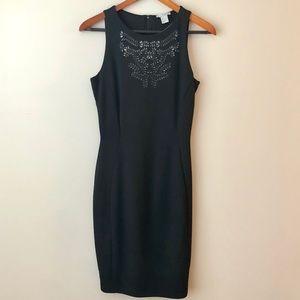 H&M Black Dress with Laser Detail